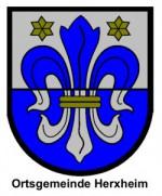 Wappen Herxheim farbig mit Text